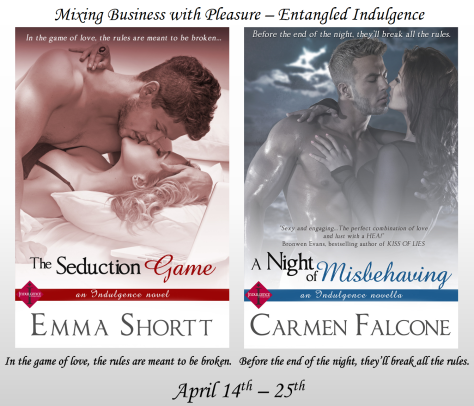 The Seduction Game - A Night of Misbehaving Banner